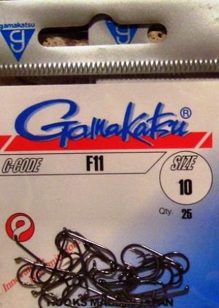 2621-Fly Hook Gamakatsu F11 web