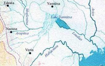Rijeka iz maglovitih vremena