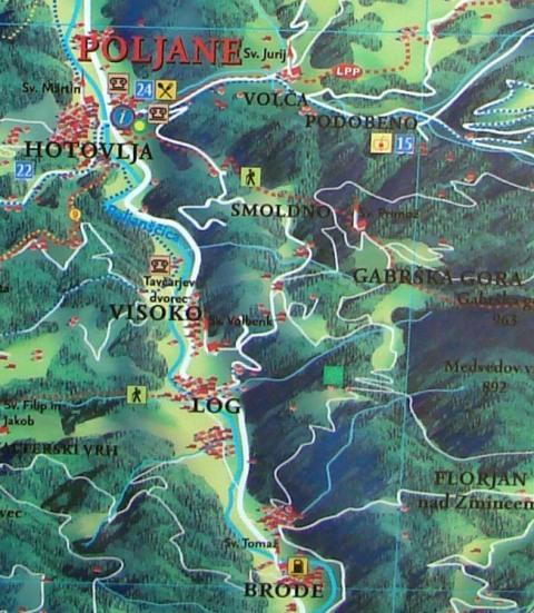 poljanska sora karta povecano