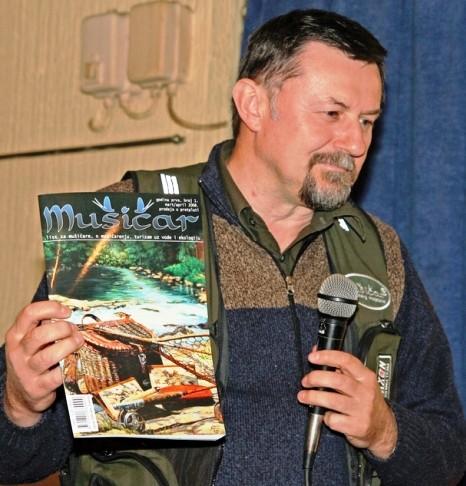 Naslovne strane štampanih izdanja lista Mušičar i događanja u i oko Mušičara