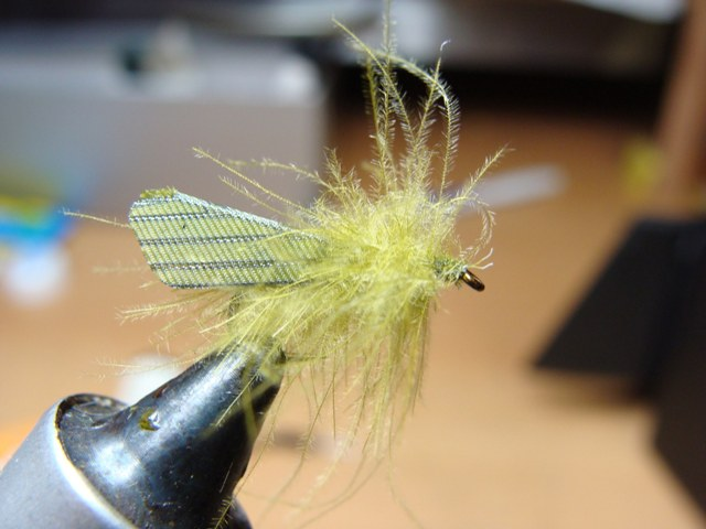 8 finished fly