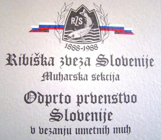 Slovenačka škola mušičarenja