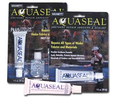how to use aquaseal wader repair