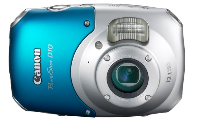 Prvi vodootporni kompaktni digitalac prozvodjaca Canon D10 web