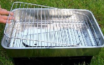 Behr aparat za dimljenje ribe 1