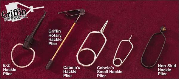 hackle pliers