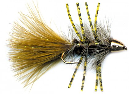 186_hcr205ol_cone_head_rubber_leg_krystal_bugger-olive