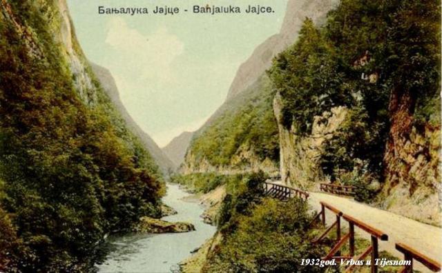Kanjon Vrbasa u Tijesnom-1932god web