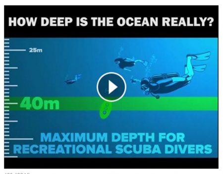 koliko je dubok okean