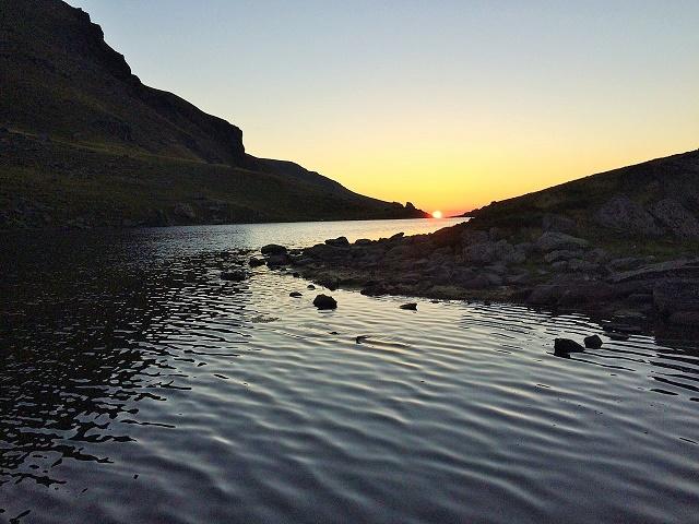 jezero-zalazak-sunca