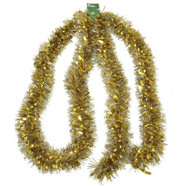 VELIKA GIRLANDA ZA JELKU (srebrno-zlatna), 40-431 girlande prodaja