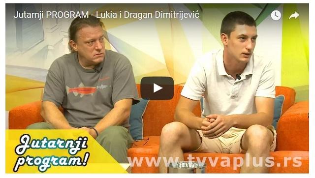 Dimitrijevići gosti u jutarnjem programu TV Valjevo Plus