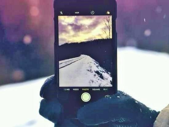 Ako vam mobilni upadne u sneg