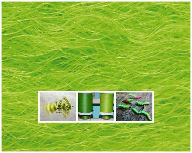 Zelena boja kod mušičarenja