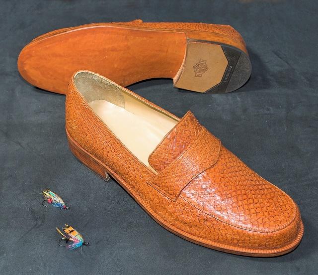 Cipele od lososove kože