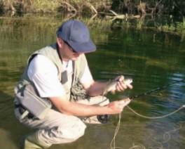 Banatski Fly fishing
