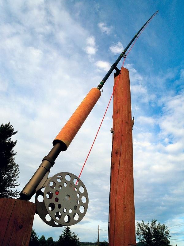 Najveći mušičarski štap na svijetu