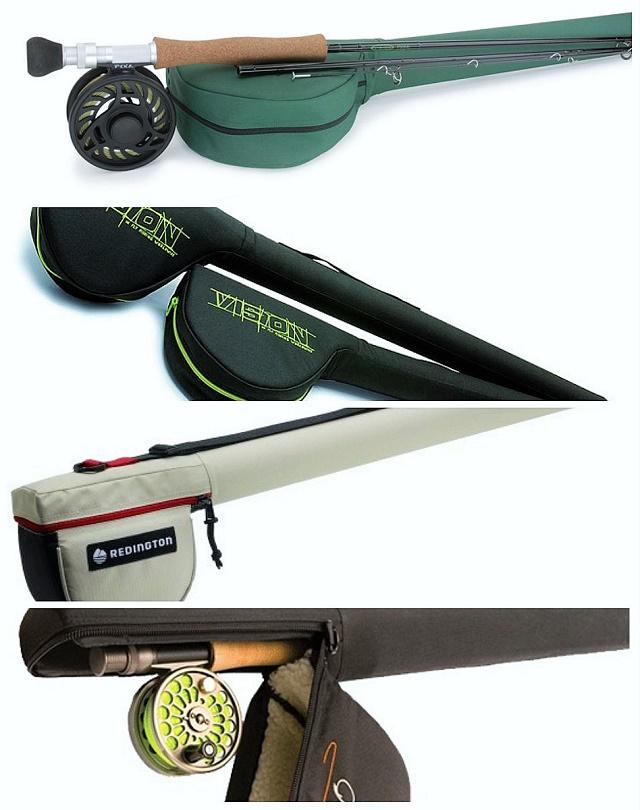 Platnene futrole za transport štapa i montiranog čekrka na njemu