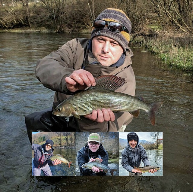 Januarsko druženje i pecanje na Ribniku