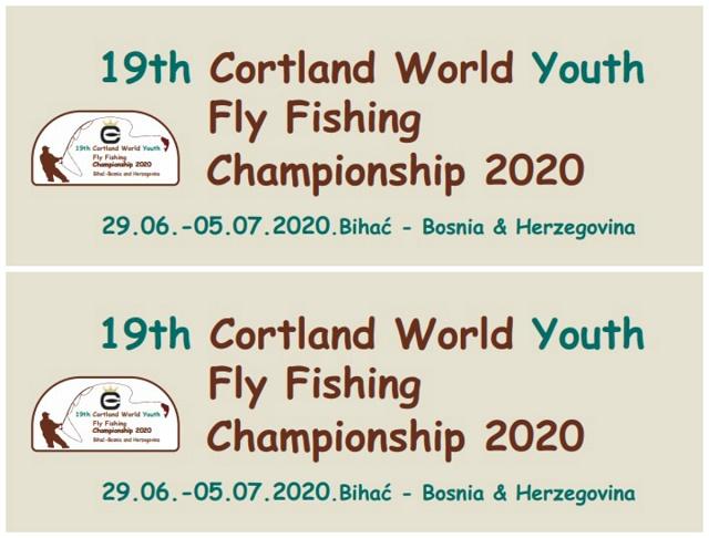 Najava: Svjetsko prvenstvo mladih u mušičarenju Bihać 2020., Bosna i Hercegovina