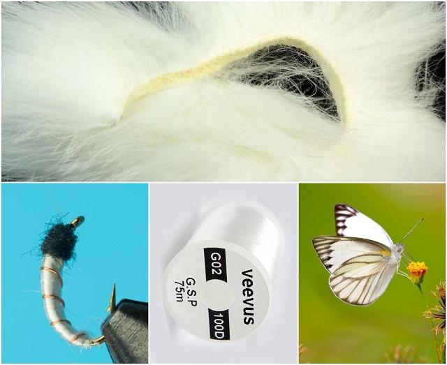 Bela boja kod mušičarenja
