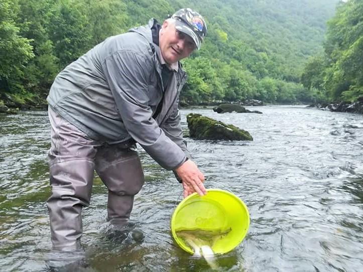Poribljavanje rijeke Vrbas jun 2020