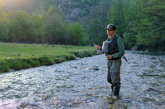 Uvod u mušičarenje emisija Top fishing