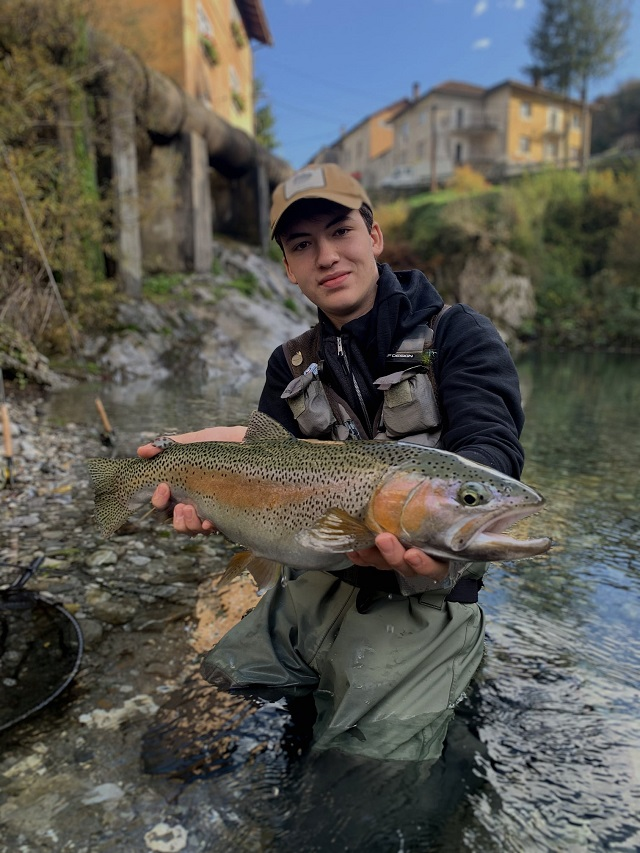 Velika šarenka iz reke Bače – Vitan Gorjan