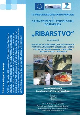 IV Konferencija iz Ribarstva 2009.