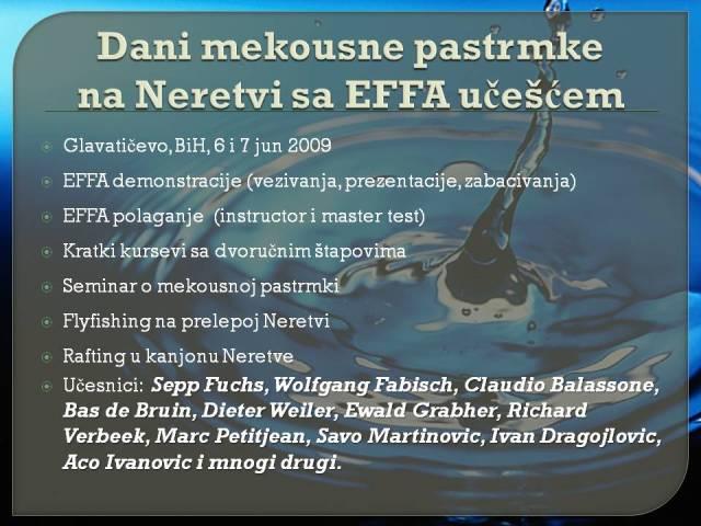 EFFA na Neretvi