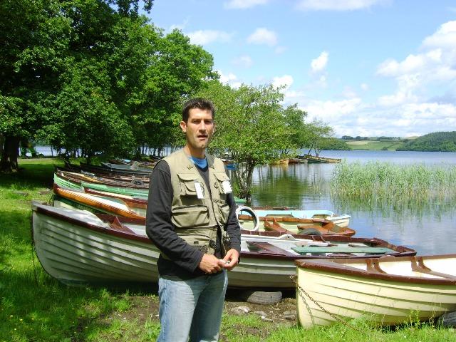 Irska: Lov pastrmke na jezeru
