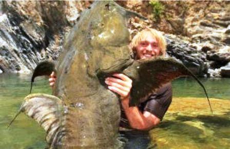 Som – ljudožder doneo slavu češkom ribolovcu