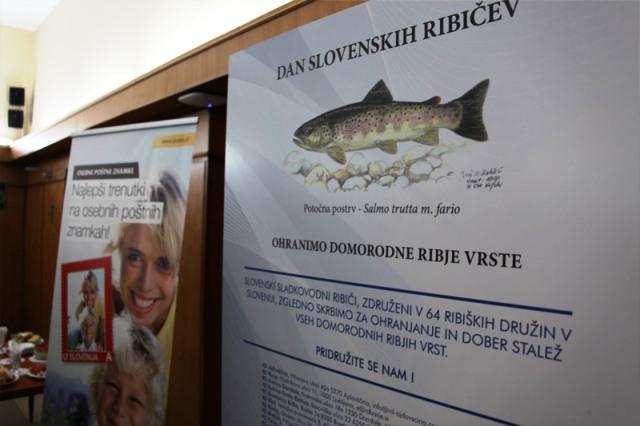 Riba na markama, filatelistički otvaranje izložbe
