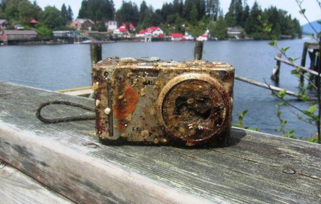 Slike sačuvane na dnu mora