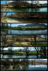 Panoramske fotografije Sanice