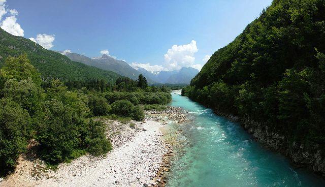 Da li je Soča najlepša reka na svetu?