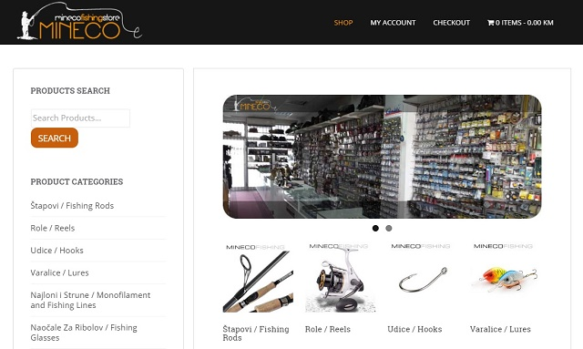 Nova onlineprodavnica – Mineco
