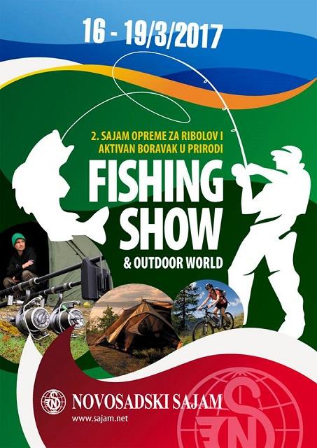 Fishing show & outdoor world Novosadski sajam 16-19.03.2017. – najava