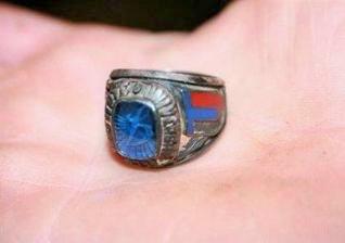 U ribi pronašao prsten izgubljen prije 21 godinu