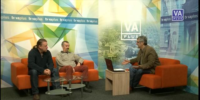 Dragan Dimitrijevići i Zoran Đukić gosti u jutarnjem programu TV Valjevo Plus