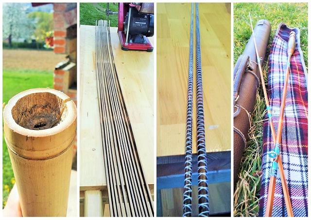 Izrada bambus štapova