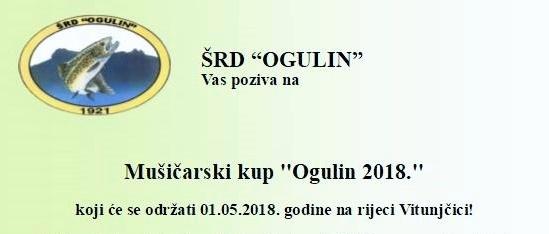 Takmičenje na rijeci Vitunjčici za prvi maj 2018. – najava