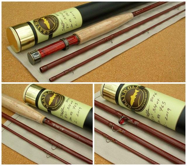 Steffen Brothers mušičarski štapovi od fiberglasa