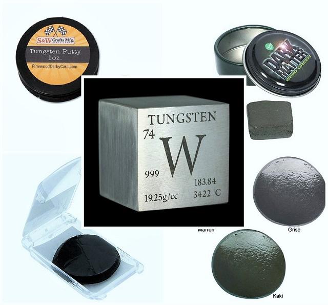 Tungsten pasta