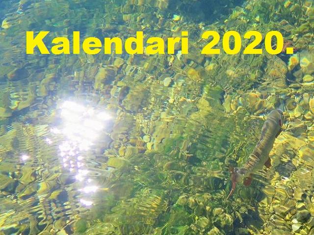 Ribolovački kalendari za 2020.