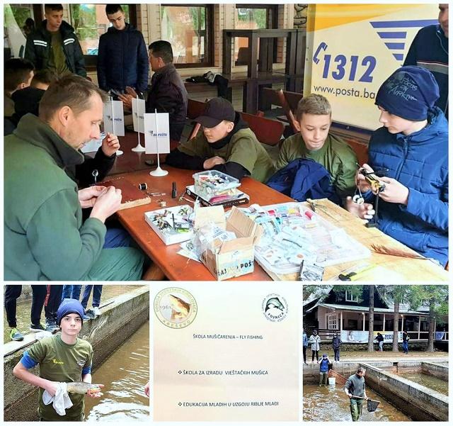 Akcija UGSR Fojnica, BiH sa mlađim mušičarima