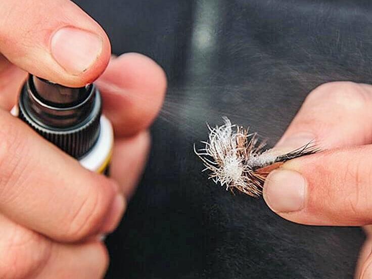 Parafinsko ulje – korišćenje tokom mušičarenja