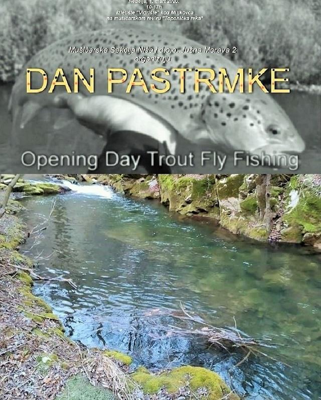"""""""Dan Pastrmke"""" – otvor sezone na Toponičkoj reci"""
