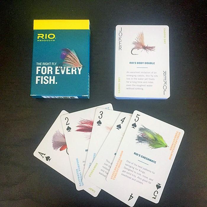 Rio karte za igranje sa slikama muha